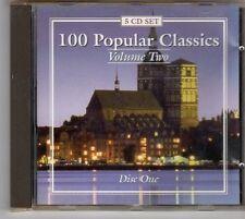 (ES682) 100 Popular Classics, Vol. 2 [Disc 1] - 1998 CD