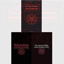 Anton LaVey Collection 3 Books Set Satanic Bible ,Satanic Rituals Paperback, New