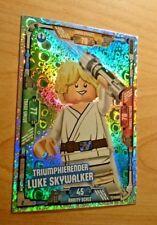 LEGO® Star Wars Training Card Collection 2018 Luke Skywalker FOIL RARE HOLO NEU