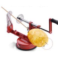 Aluminum Potato Twister Tornado Slicer Cutter Machine Spiral Kitchen Tool New