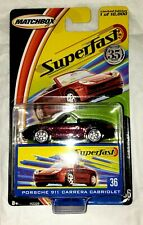 MATCHBOX 2004 35YRS SUPERFAST PORSCHE 911 CARRERA CABRIOLET #36