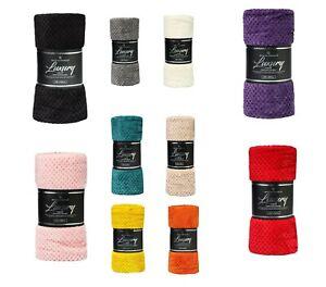 Pop Corn Throw 100%Polyster Warm Fleece Blanket Sofa Throw/Blanket Small 130x150