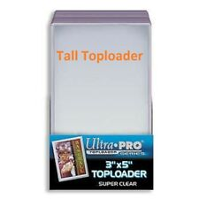 """1 Pack(25pcs) 3"""" x 5"""" TopLoaders holders for Tall Sports Card Widescreen & More"""