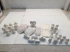 40 Hearts, Angels, Nativity, Trains Ceramics Bisque Ready To Paint AM (J5)