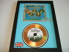 THE BEACH BOYS  SIGNED  GOLD CD  DISC