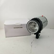 Neewer C-250 Watt Studio Flash Strobe Slave Modeling Light Tested