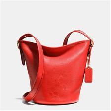 Coach F34505 Cardinal Pebbled Leather Mini Duffle Bag  jeptall #ShopDrop