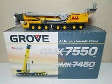 Grove GMK7550 Mobile Crane (All Crane) by NZG 1:50 Scale Diecast Model #526 New!