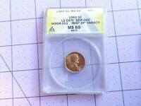 """""""Best of""""Variety 1960 Double Die Reverse Lincoln Memorial Cent Extremely RARE"""