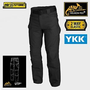 Pantaloni HELIKON-TEX Urban Tactical Pants UTP Tattici Militari Outdoor BK