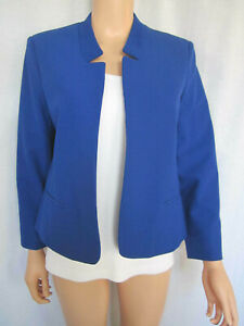 Ann Taylor Women's Jacket Blazer Size 6 Blue NEW WITH TAGS