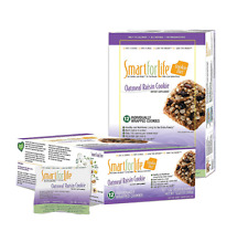 Smart for Life Cookie Diet Oatmeal Raisin - 12 ct. New