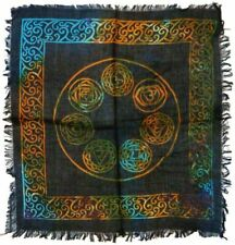 Altar Cloth 18x18 inch: Seven Chakras (NEW) Wiccan FREE SHIPPING