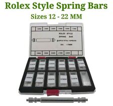 Rolex Style Generic Watch Strap Spring Bars Pins 12-22 mm 1.78 mm Diameter