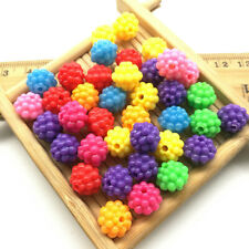 Lot 40pcs Acrylic Charms Loose Beads Kid Jewelry DIY Accessories 10*9mm