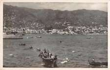 Funchal Madeira Panorama View Real Photo Antique Postcard J65775