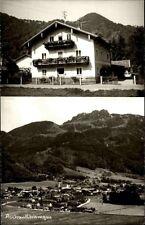 Aschau Bayern AK ~1950/60 Chiemgau Mehrbild-AK Dorf Wohnhaus Berge Landschaft
