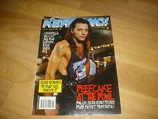 KERRANG Classic Metal magazine inc BON JOVI pics  & preview 19/08/89  #252
