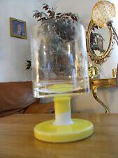 Murano Carlo Moretti Art Glass Pedestal Vase Italy