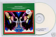 CHOIR OF YOUNG BELIEVERS Action/Reaction 2trk promo CD