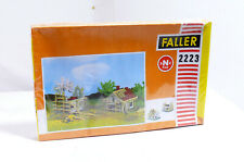 Faller 2223 N Gauge House IN Structure New Construction Rough Settlement Kit Ob