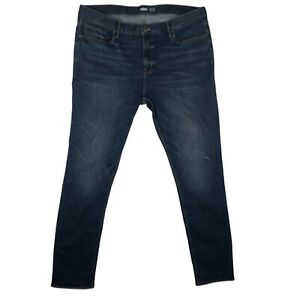 Old Navy Mens Super Skinny Jeans Built-In Tough Built-In Flex Size Adult 42/36