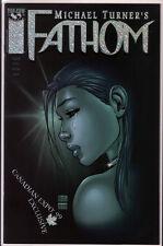 Michael Turner 's Fathom Vol 1 #8 Canadian Expo '99 Exclusive Foil Variant Aspen