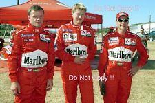 Makinen & Loix & Gardemeister Mitsubishi WRC Portrait 2001 Photograph