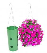 """14"""" Flower Tower // Hanging Flower Basket, Hanging Flower Pot"""