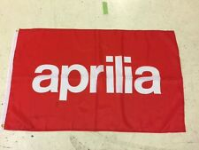 Aprilia Banner Flag ~ Moto GP Superbike Cafe 125 RSV 4 Biaggi MXV Road Racing