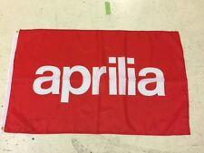 Aprilia Banner Flag ~ Moto Gp Superbike Cafe 125 Rsv 4 Biaggi Mxv Road Racing