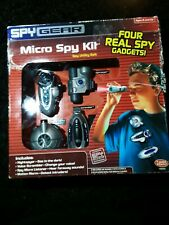New Kids Spy Gear Toy Secret Agent Gadget Micro Spy Kit Utility Belt Electronic