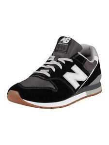 New Balance Men's 996 Suede Trainers, Black