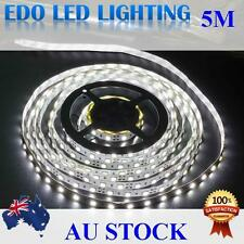 12V Cool White 5M 3528 SMD 300 Leds LED Strips Led Strip Lights car caravan
