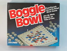 Boggle Bowl Word Game by Parker Brothers 1987 Bilingual Complete Excellent Plus