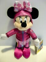 BNWT Mickey & The Roadster Racers Minnie Mouse Plush Genuine Disney Store