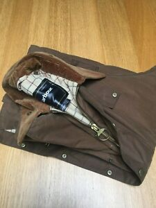 VGC Barbour Beaufort men's medium 48in waxed country hunting shooting jacket