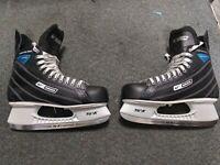 bauer supreme enforcer ice hockey skates size 12 mens adult tuuk fasteel