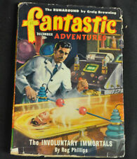 Fantastic Adventures Volume 11 #12 Fine- The Involuntary Immortals Rog Phillips