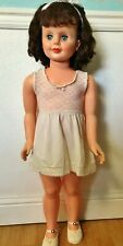 """Vintage Lace Slip for 1950 1960 Playpal companion Patti Ginny 35"""" 36"""" Baby Doll"""