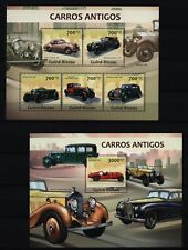Guinea Bissau 2013-ROLLS ROYCE PHANTOM + Bentley Oldtimer Antique Classic Cars