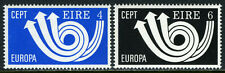 Ireland 329-330, MI 289-290, MNH. EUROPA CEPT. Post Horn and Arrows, 1973
