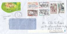 Andorra - 2021 - cover marked with three times Cept