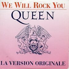 WE WILL ROCK YOU;WE ARE THE CHAMPIONS - QUEEN (CD SINGLE)
