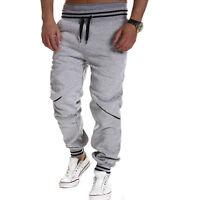 Hommes jogging entraînement sport Pantalon de bas survêtement Jogger baggy
