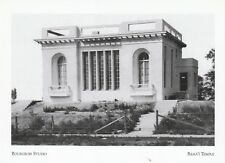 """*Postcard-""""The Bourgeois Studio"""" @ The Baha'i Temple  (A34-1)"""