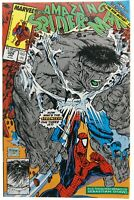 Amazing Spider-Man 328 VF 8.0 Grey Incredible Hulk Todd McFarlane Cover Cosmic