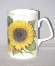 Royal Victorian Fine English Bone China Tea or Coffee Mug SUNFLOWERS