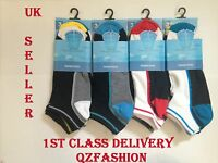 MENS TRAINERS SOCKS BOYS COTTON GYM SPORTS ATHLETIC SUMMER ANKLE SOCKS SIZE 6-11