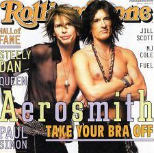AEROSMITH -TAKE YOUR BRA OFF- Live In Orlando 2001- Japan CD